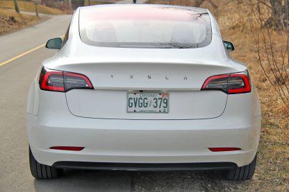Model 3 Long Emblem Chrome