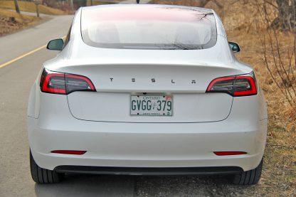 Model 3 Long Emblem Black