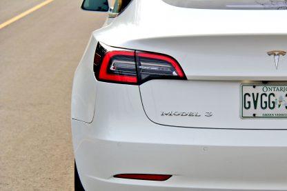 Model 3 Badge Emblem Chrome Trunk 2
