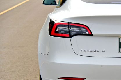 Model 3 Badge Emblem Chrome trunk
