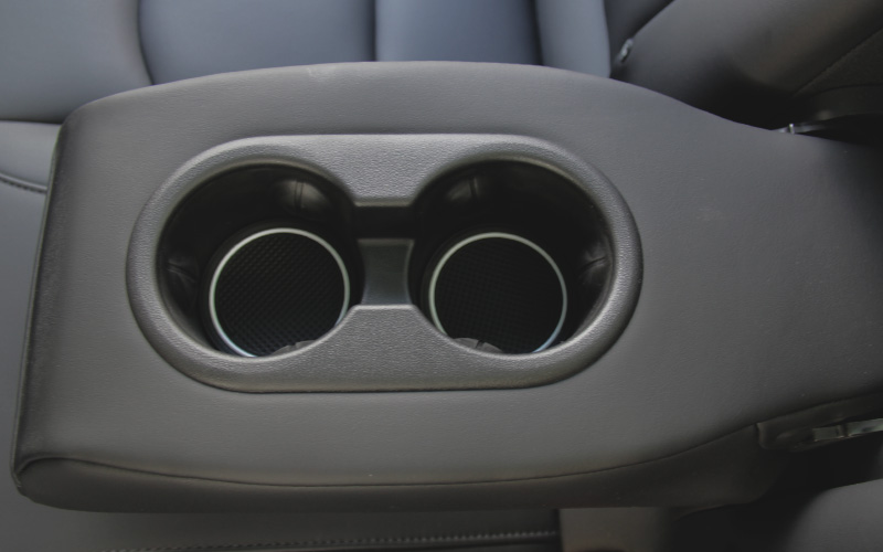 Model 3 rear cup holder liner insert