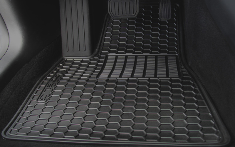 model 3 floor mats honeycomb