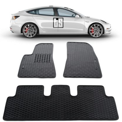 Model 3 Floor Mats High Performance Cover 2
