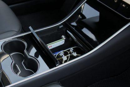 Model 3 Console Organizer Partial Closure