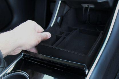 Model 3 Console Organizer Installation