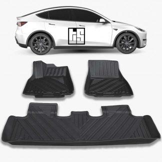Model Y Floor Mats 3D