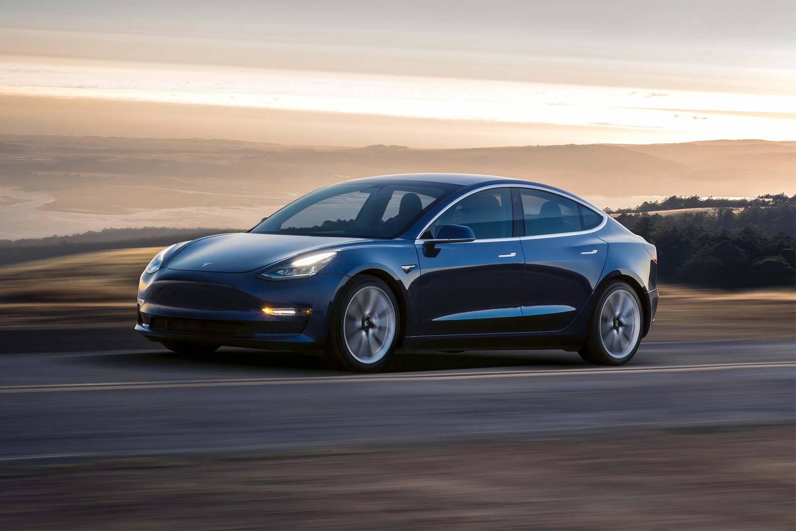 2020 Midnight Silver Metallic Tesla Model 3