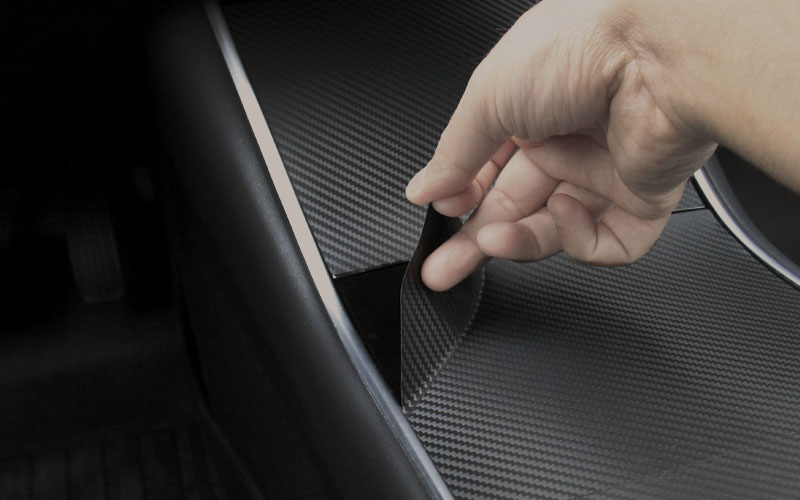 Center Console wrap easy installation