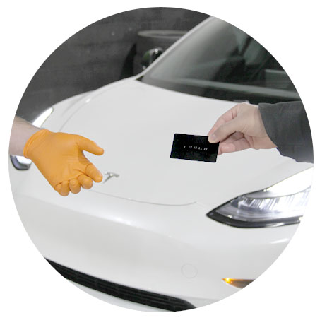Model Y Paint Protection Film PPF book appointment