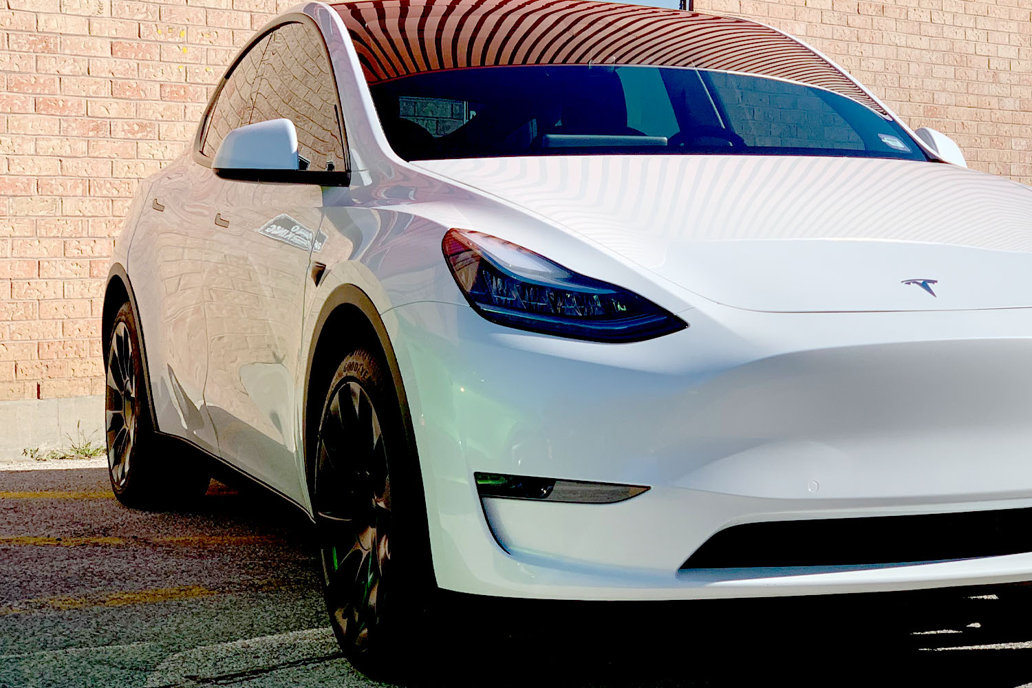 Model Y Ceramic coating high gloss