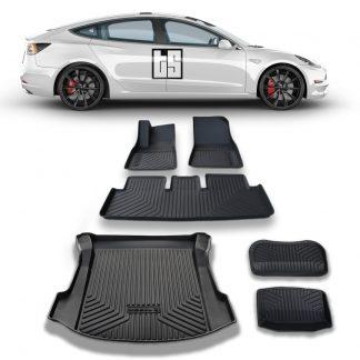 Tesla Model 3 3D Mats Bundle