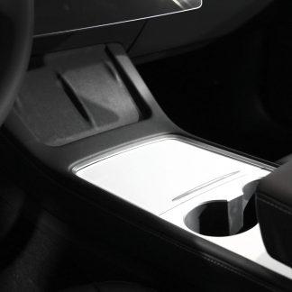 2021 Model 3 Console Wrap White