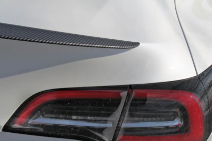 Tesla Performance Spoiler Matte Carbon Fiber