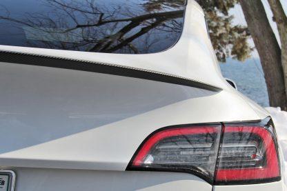 Model Y Performance Spoiler Carbon Fiber