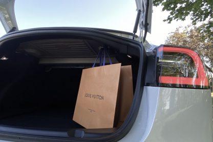 Model 3 Trunk Shopping Bag Hook