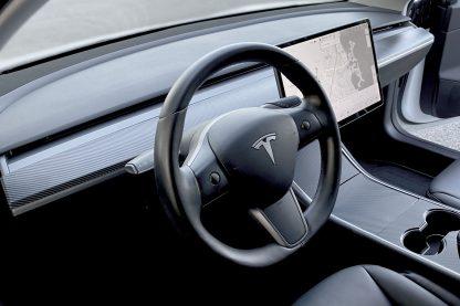 Tesla Carbon Fiber Dash Trim