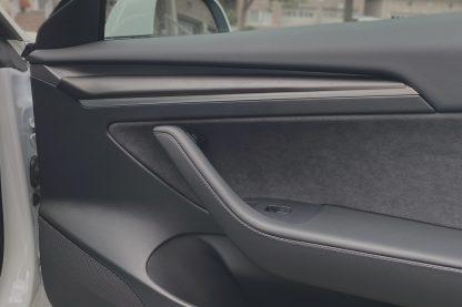 Tesla Matte Gray Door Trim